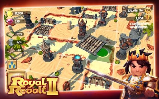 Игра Royal Revolt 2 для планшетов на Android