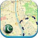 Pakistan Offline Map & Weather icon