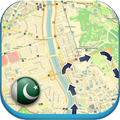 Pakistan Offline Map & Wetter
