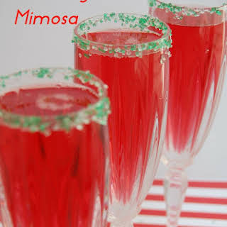Cranberry Mimosa.