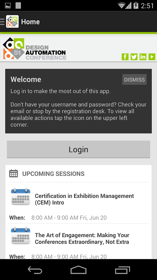 Design Automation Conference - screenshot