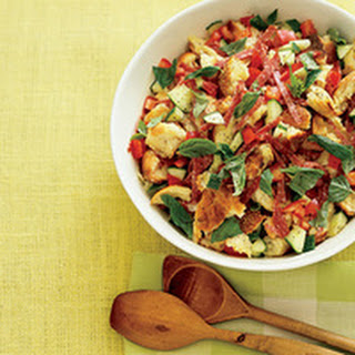 Toasted-Bread Salad with Salami