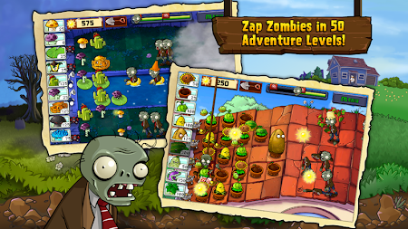 Plants vs. Zombies FREE APK screenshot thumbnail 2