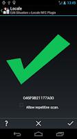 Screenshot of Locale NFC Plugin