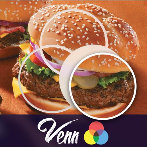 Venn Food: Circle Jigsaw