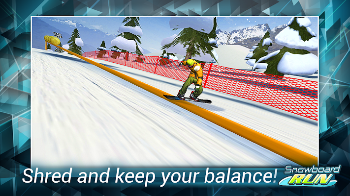 Snowboard Run - screenshot