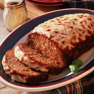 Pizza Meat Loaf.