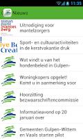 Screenshot of Gemeente Gulpen-Wittem
