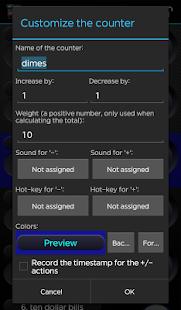 Advanced Tally Counter - screenshot thumbnail