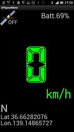 GPSpeedMeter
