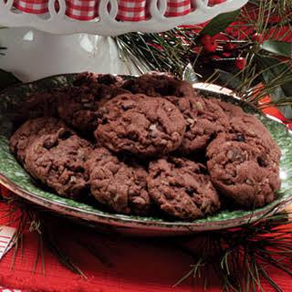 German Chocolate Cake Mix Cookies.