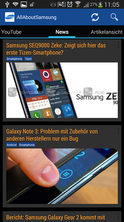 All About Samsung - screenshot