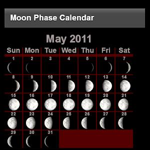 Moon Phase Calendar 書籍 App LOGO-APP試玩