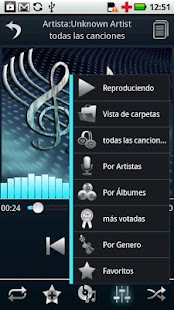 Spanish Language - Euphony MP - screenshot thumbnail