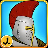 Sticker Play Knights - Premium