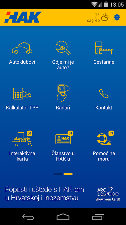 Croatia Traffic Info – HAK- screenshot