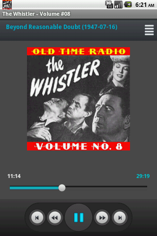 The Whistler Old Time Radio V8