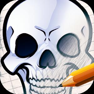 How to Draw Skulls 教育 App LOGO-硬是要APP