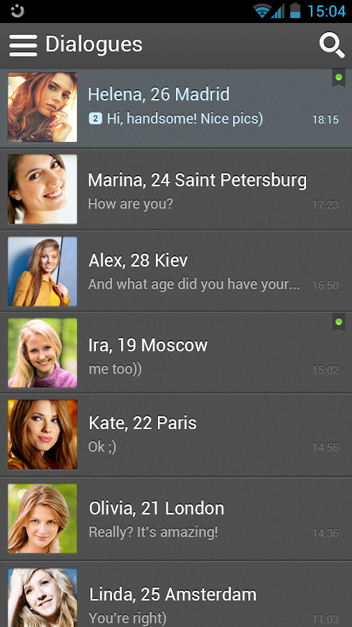 Top face dating chat