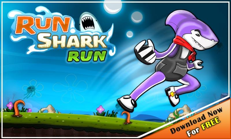 Run Shark Run - Running Game- screenshot