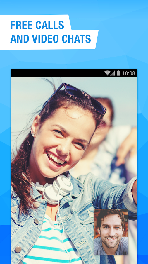 Screenshots of free video calls and chat for Android