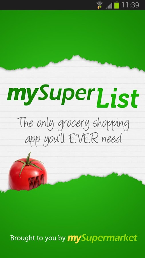 mySuperList – Shopping List - screenshot