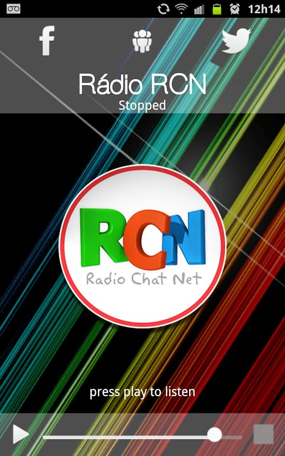 Rádio RCN- screenshot