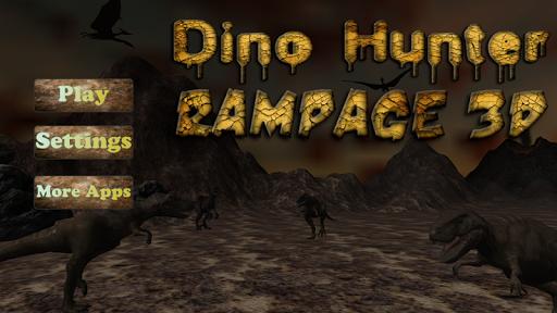 Dino Hunter Rampage 3D