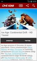 Screenshot of CineBack