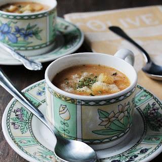 Slow Cooker Leek & Potato Soup.