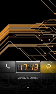 MIUI Circuit theme Go Locker - screenshot thumbnail
