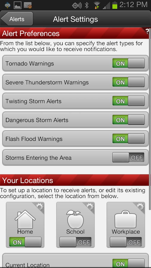 8News Stormtracker - screenshot