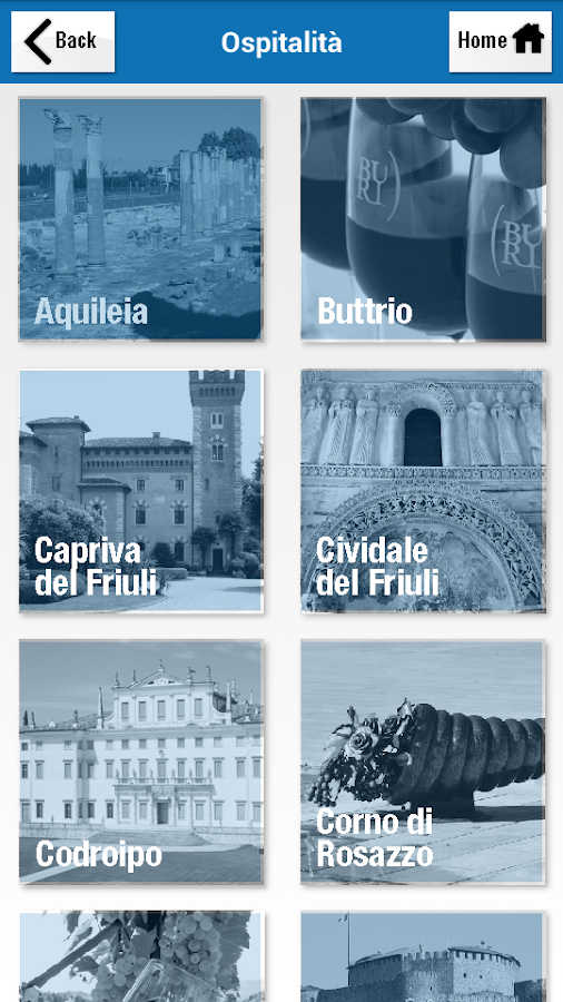 Ciao in Friuli Venezia Giulia - screenshot