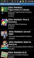 Screenshot of IDEAL Access 4 Vodafone®