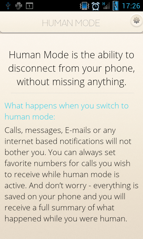 Human Mode- screenshot