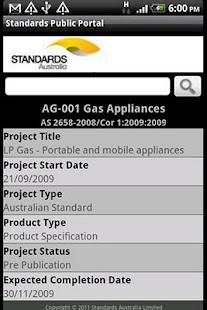 Standards Public Portal- screenshot thumbnail