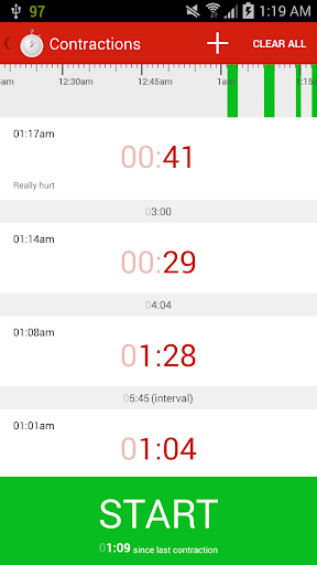 免費下載遊戲APP|Contractions Timer for Labor app開箱文|APP開箱王