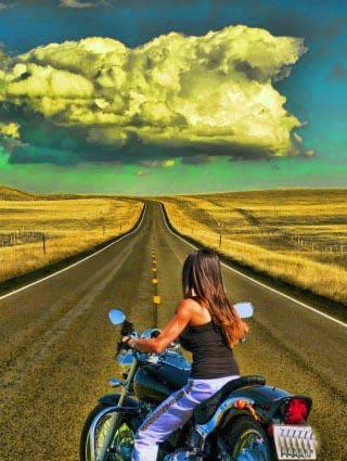 Moto Bike Girls Game