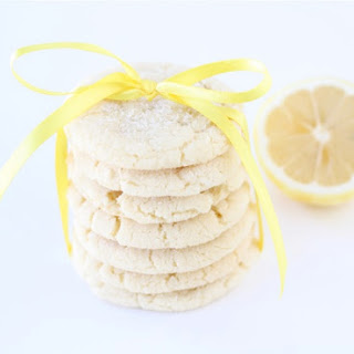 Lemon Sugar Cookies.