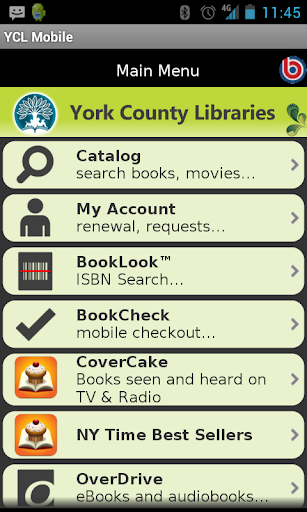 York County Libraries Mobile