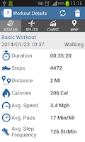 Screenshot of Novecro Pedometer