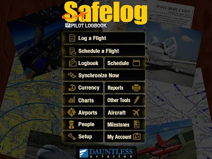 Safelog Pilot Logbook - screenshot thumbnail