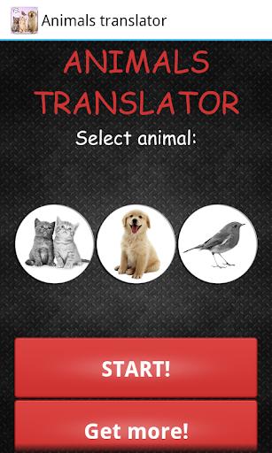 玩免費娛樂APP|下載動物的翻譯 app不用錢|硬是要APP