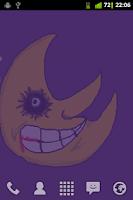 Screenshot of Dark Moon Live Wallpaper