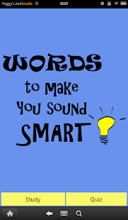 Words to Make You Sound Smart- screenshot thumbnail