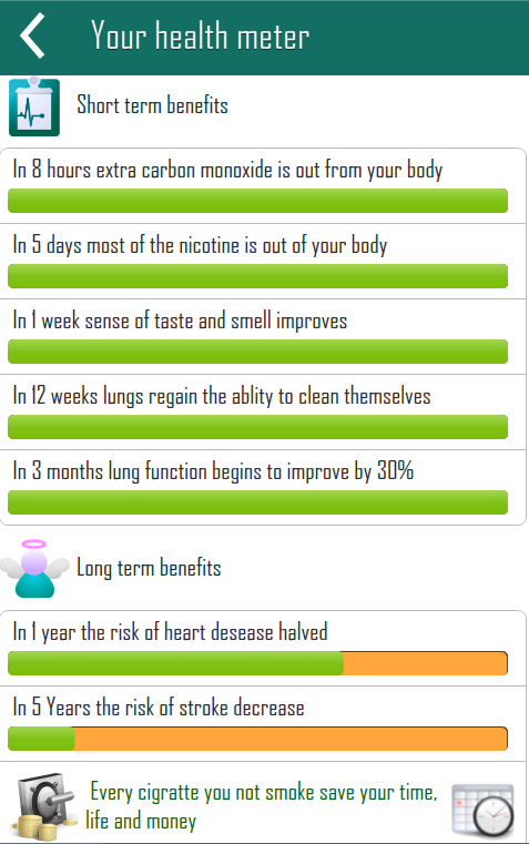 Quit Smoking - screenshot