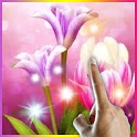 Magical Flowers Live Wallpaper icon
