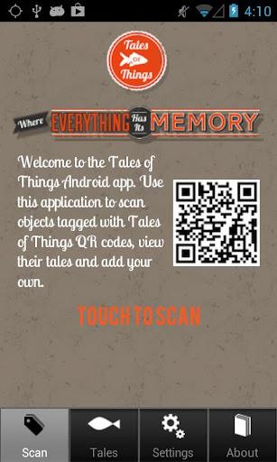 Tales of Things