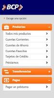 Screenshot of Banca Móvil BCP - Bolivia