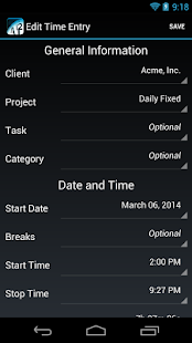Time Master - Time Tracking- screenshot thumbnail